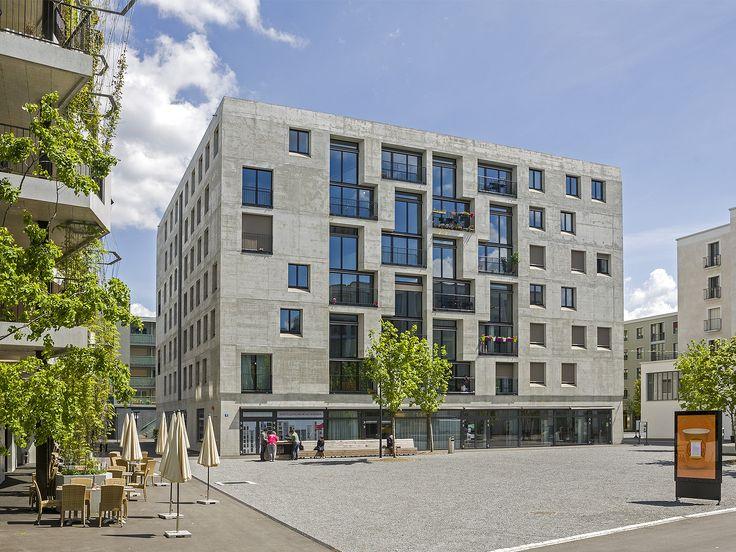 """pool Architekten / pool Architekten / Haus G """"Mehr als Wohnen"""" / Wohnungsbau/Mehrfamilienhäuser"""