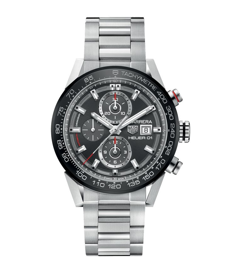 TAG Heuer Carrera Calibre Heuer 01 Automatic Chronograph 45 mm CAR201W.BA0714 TAG Heuer watch price