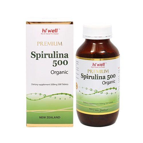 하이웰 프리미엄 유기농 스피루리나 500 500정