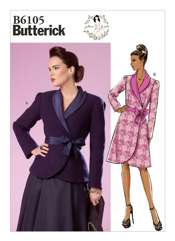 28 besten Jacket and Coat Patterns Bilder auf Pinterest ...