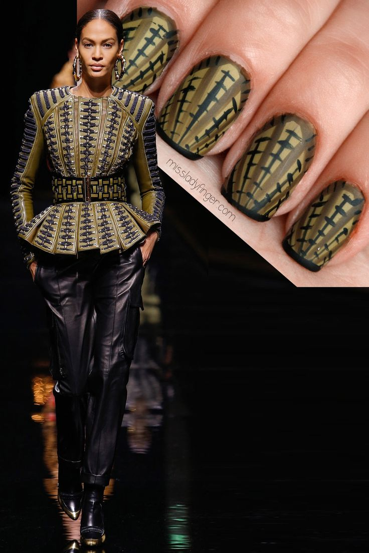 Become A Successful Beauty Model Master Manicure Muse: Balmain Fall &  This Old Puts The Rest Of Us To Shame& Click