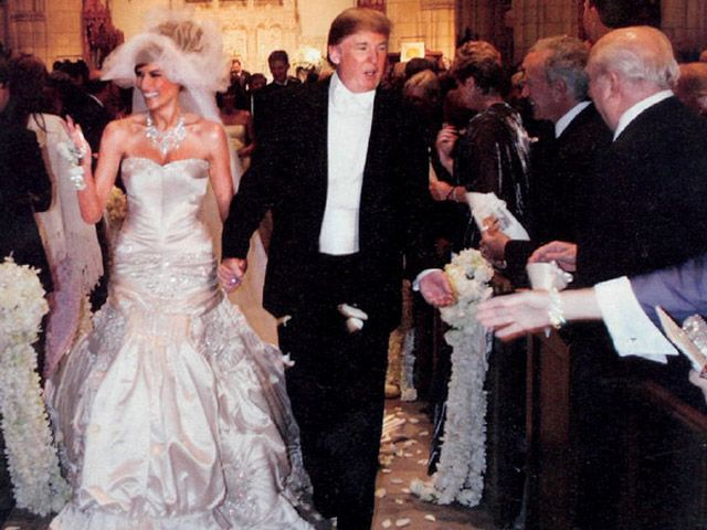 #ThrowbackThursday: Melania and Donald Trump's Million DollarWedding | StyleCaster