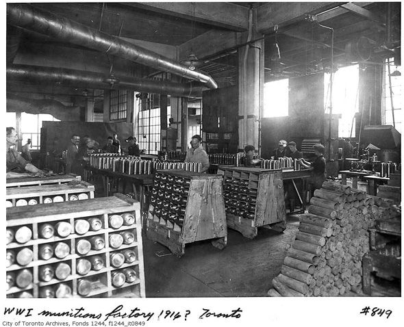 A dominant motif in our series of historical Toronto posts is the slow erosion of industrial architecture from the cityscape. We've tracked this pr...