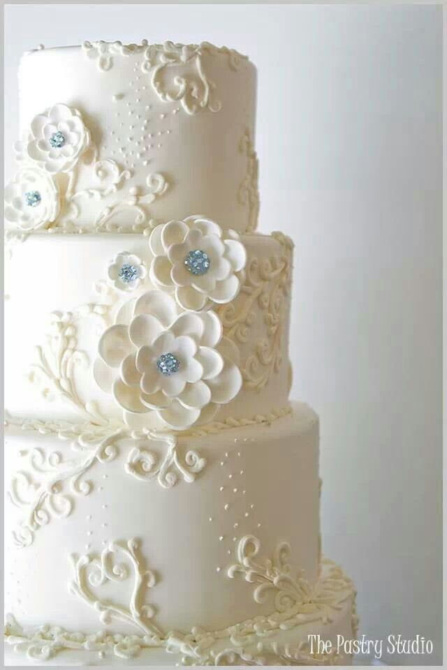 Lovely, with a Touch of Blue...The Pastry Studio is located @ Daytona Beach, FL.