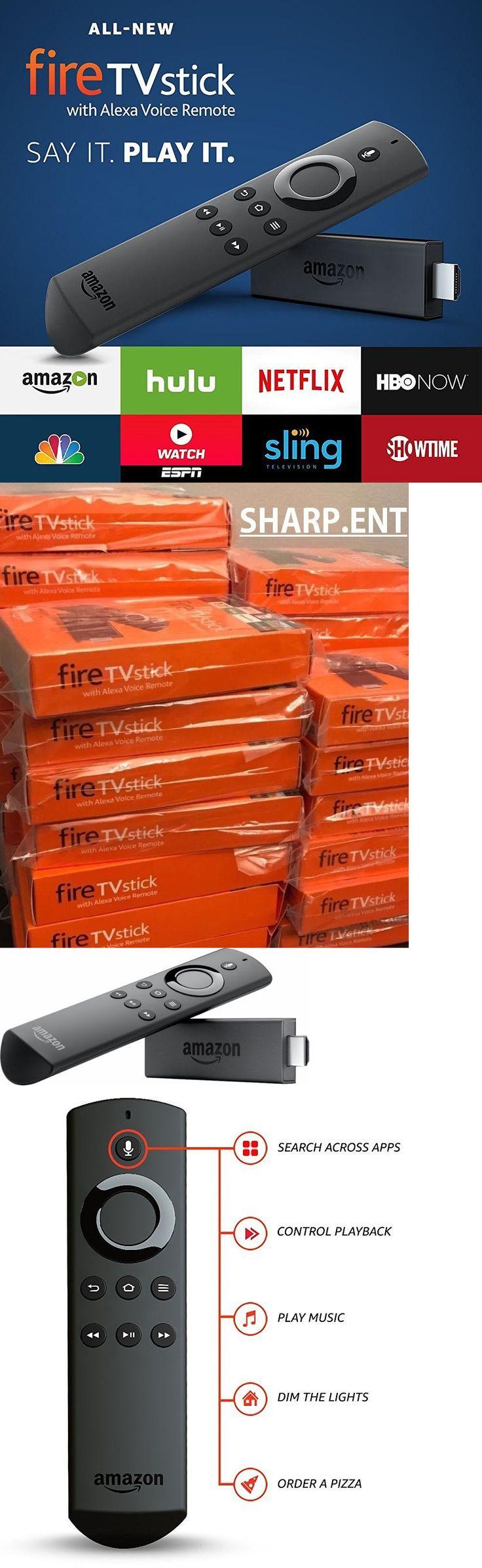 Internet and Media Streamers: Amazon Fire Tv Stick W Alexa Voice Remote- 2Nd Gen -Brand New!! Ships 1 Biz Day! -> BUY IT NOW ONLY: $48.77 on eBay!