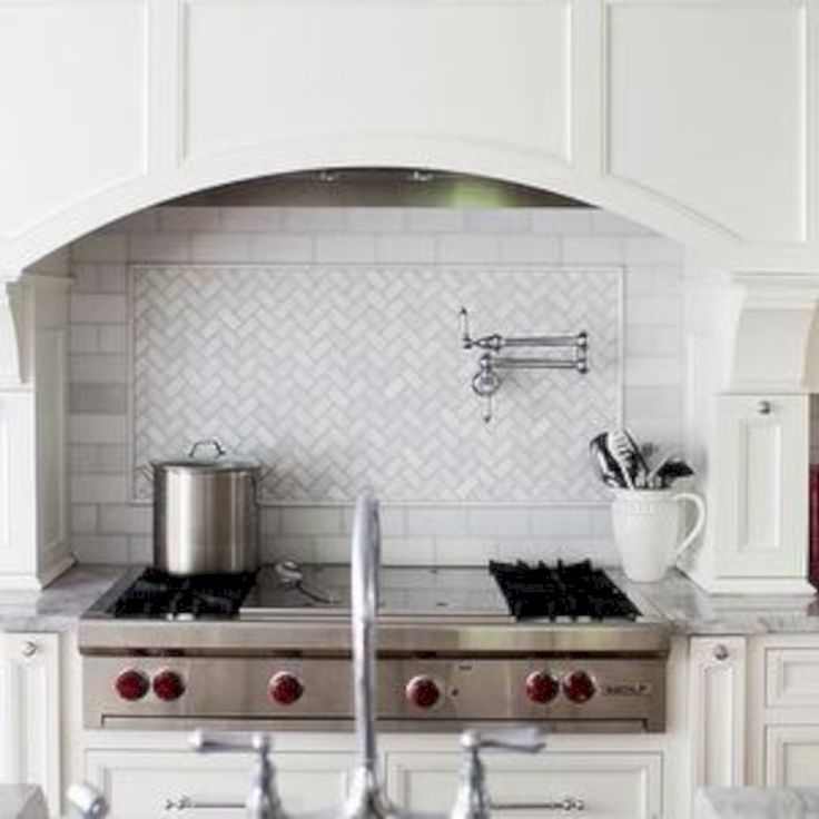 Die besten 25+ Marble herringbone tile Ideen auf Pinterest U - metro fliesen küche