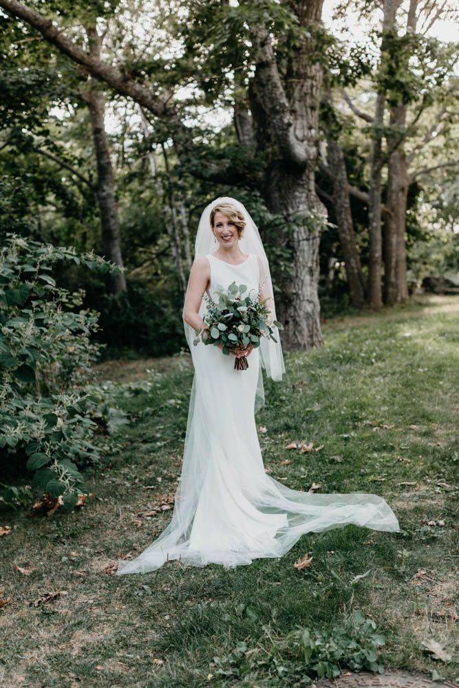"""""""Heather"""" by Amsale. Bridal gown. Jess Jolin photography. Flowers by: Flowers by Leslie"""