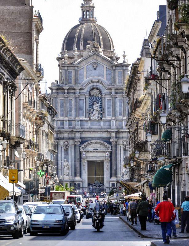 Catania, Sicily and a day spent exploring the city... #catania #sicily #travel