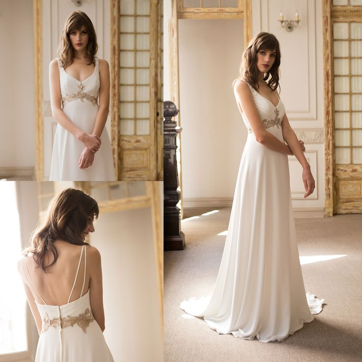 Vestido de Novia Griego · Grecian Wedding Dress