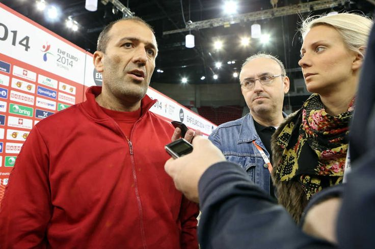 "Handball-EM 2014: Dragan Adzic ""Ziel ist Olympia 2016 in Rio."" #sport4final #ehfeuro2014 #handballem2014"