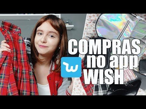 9fc6fad02 COMPRINHAS DA CHINA l Wish - YouTube