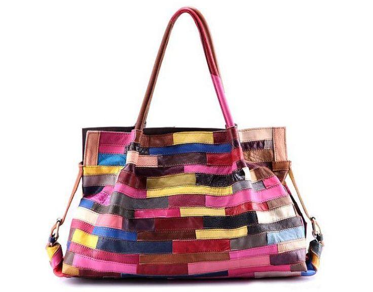 Fashion Genuine Leather Handbag Women's  Shoulder Bag Women's Casual Messenger #Unbranded #MessengerCrossBody