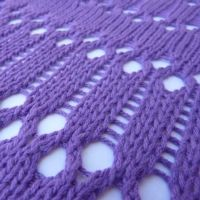Double Eyelet Lace Tutorial For Machine - Single Bed | Machine Knitting Tutorial