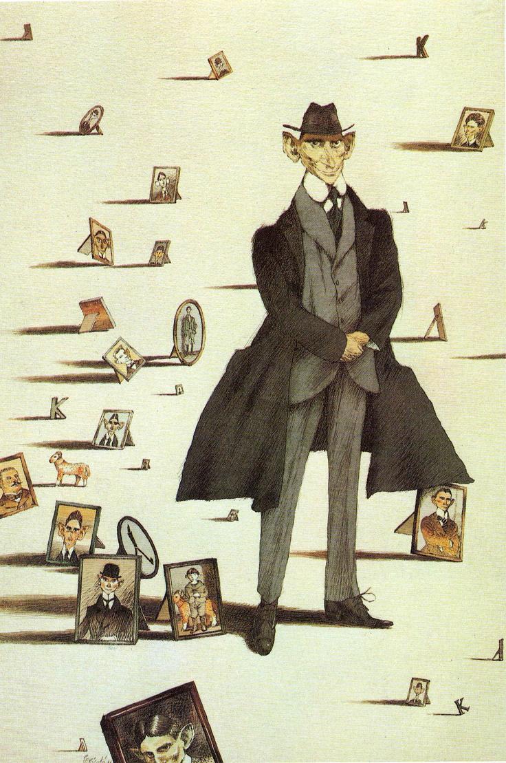 Franz Kafka visto da Tullio Pericoli