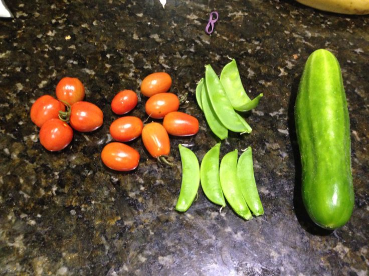 Today's harvest :) 11may