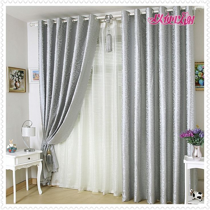 M s de 25 ideas incre bles sobre cortinas grises en for Cortinas salon gris