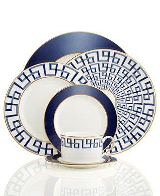 Lenox Darius Gold Collection - Fine China - Dining & Entertaining - Macy's