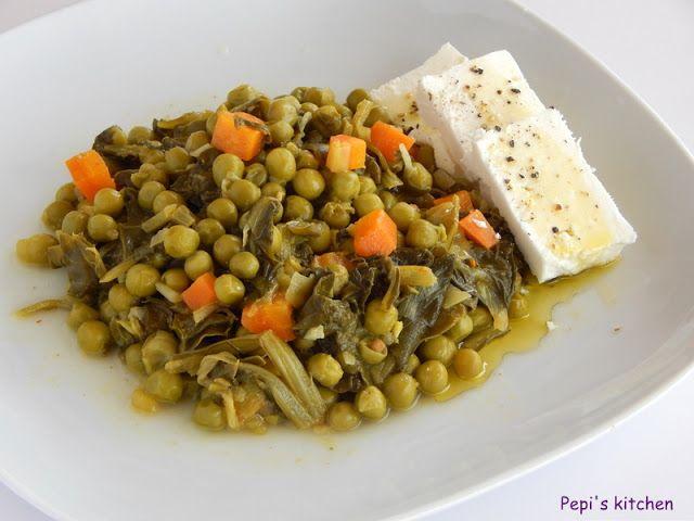 Αρακάς με σέσκουλα, μπαχαρικά και χυμό πορτοκάλι http://www.pepiskitchen.blogspot.gr/2013/04/blog-post_6.html
