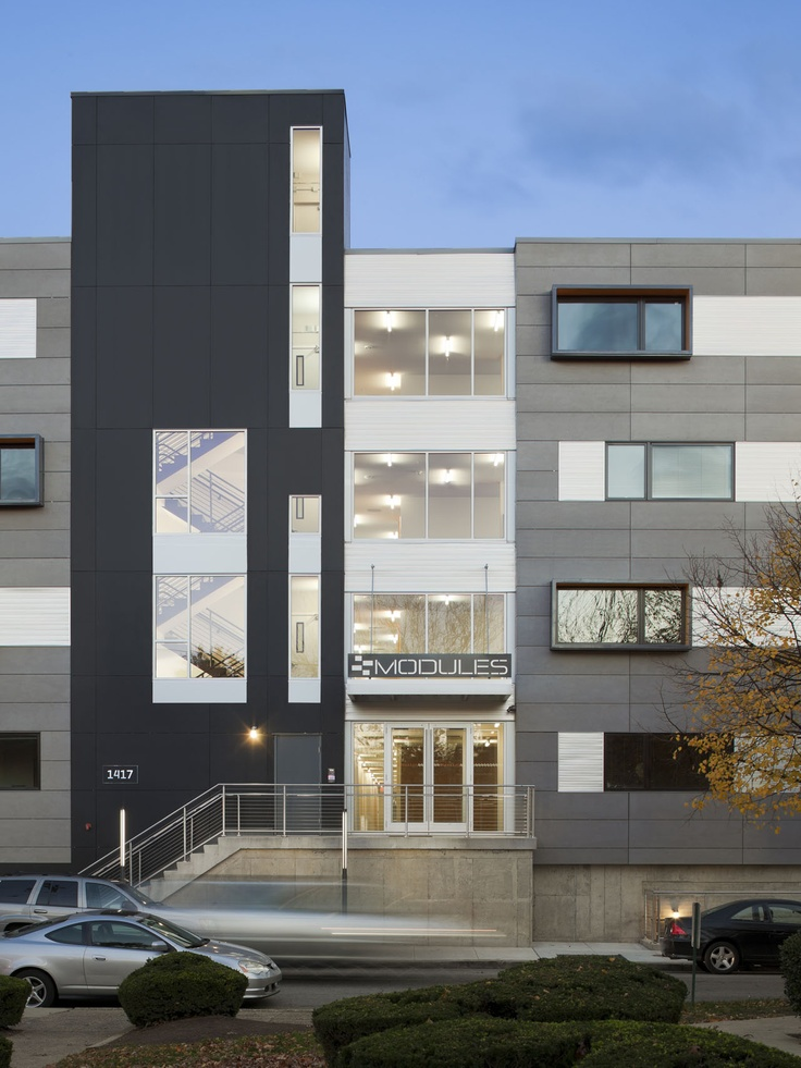 prefab student housing | the modules | interface studio architects | philadelphia, pennsylvania