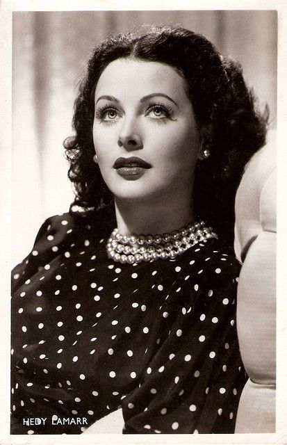 Hedy Lamarr (9 November 1914 – 19 January 2000), Austrian-born American actress and inventor.