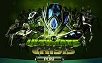 Ultimate Crisis is a 3-D arena brawler starring Ben 10 in the form of Ultimate Swampfire. Use punches, kicks and fireballs to save the earth from Aggregor and his endless army of robots....