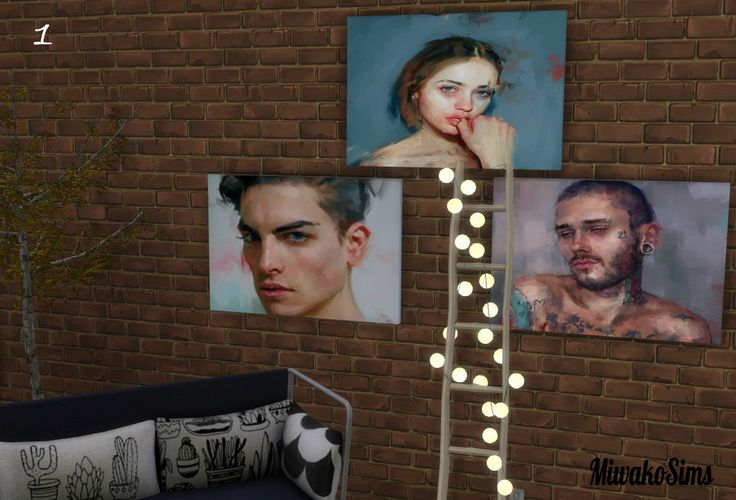 MiwakoSims - Paintings Ivana Besevic 1 | Dipingere idee ...