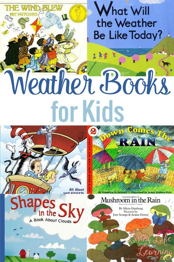I share a list of books about the weather that help us learn more and understand more about the weather in this beautiful planet of ours.
