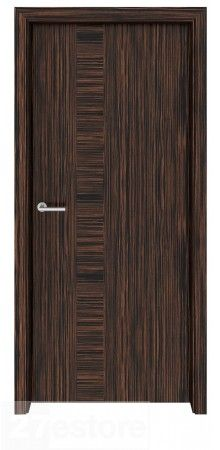 Why settle for ordinary when extraordinary is so easy to achieve? All it takes is a new interior door like this, made with genuine Ebony Macassar veneer    #ebony #interior #doors #room