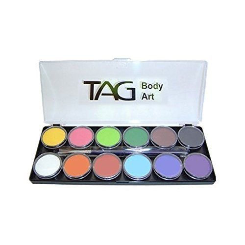 Tag Face Paint Palette Regular 12 Colors TAG Body Art https://www.amazon.com/dp/B00FE95FJI/ref=cm_sw_r_pi_dp_x_bChBzbACEMTXP