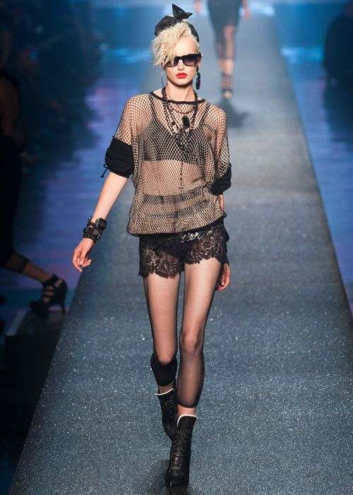 32 best gcse textiles theme age of punk images on pinterest fashion details fashion - Age de jean paul gaultier ...
