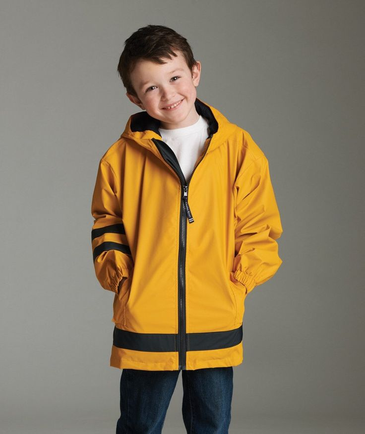 A personal favorite from my Etsy shop https://www.etsy.com/listing/250506066/kids-rain-jackets-mongorammed-sizes-4-7