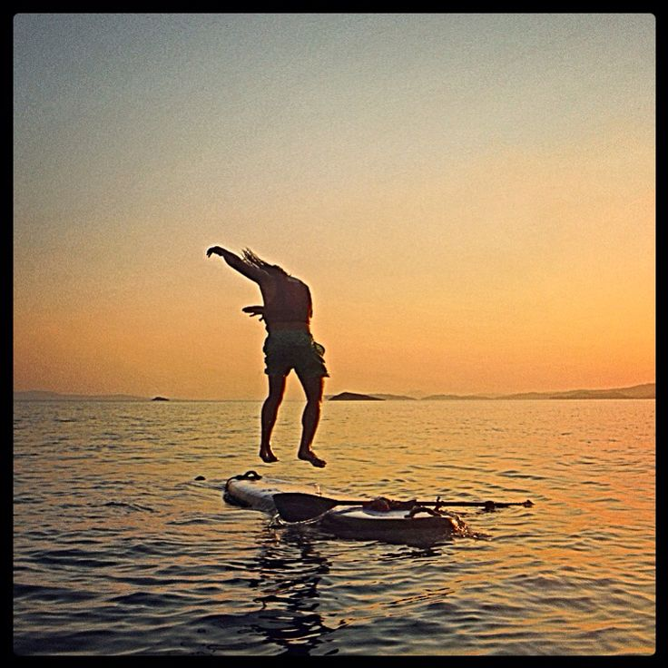 #spoardessup #360 #jump #skopelos #sup #skiathos #standuppaddleboarding #water #sunset #sky #fitness #active