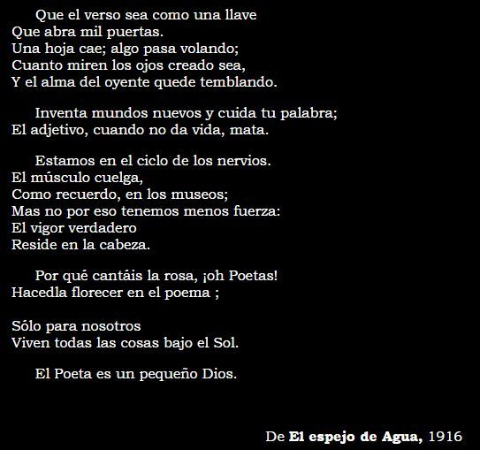 """""""Arte Poètica"""" Vicente Huidobro"""