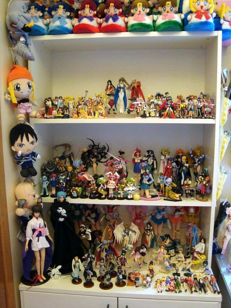 OTAKU PRIDE ♡ Decorating In Nerdy Anime Style~~ Anime Merchandise   Anime  Figures   Figure Collections   Plush Toys   Dolls   Room Decor   Geek  Decorating ...