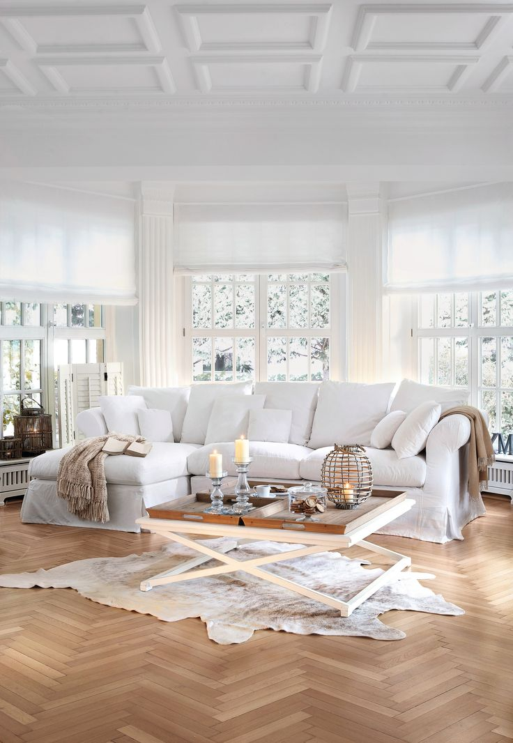 Ecksofa landhausstil weiß  Die besten 25+ Landhaus sofa Ideen auf Pinterest | Couch landhaus ...