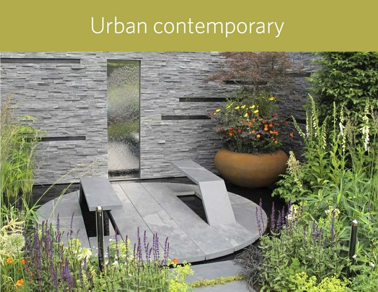 U0027Urban Contemporaryu0027 Style  The Planting Scheme In An Urban Garden Is  Crucial, As It Brings Living Colour And Texture Into The Space But Also  Must Fit The ...