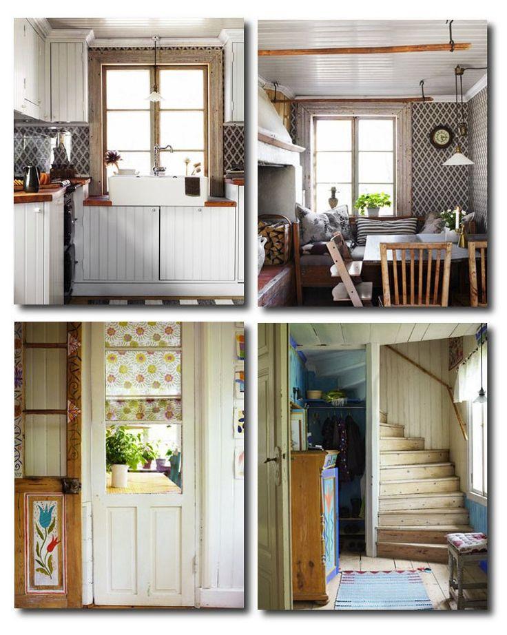 Beautiful 50 Examples Of Swedish Folk Country Interiors
