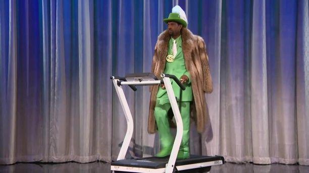 Pimp On A Treadmill (Stayin' Alive)