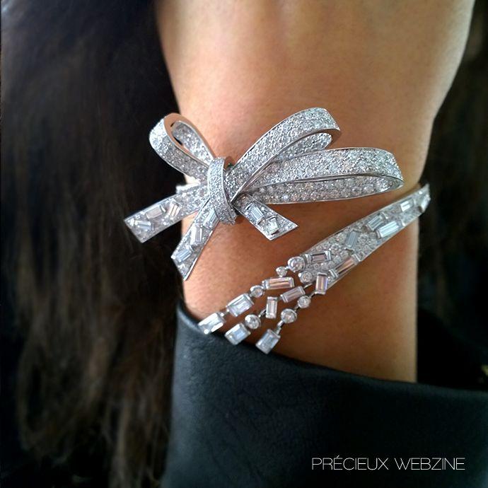 Best Diamond Bracelets  : A journey to Chanel icons with Les Intemporels de Chanel : Bracelet Ruban #LesIn
