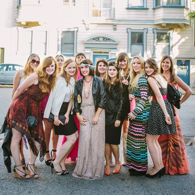 Vintage Inspired Bachelorette Party | Photography: Christina Diane