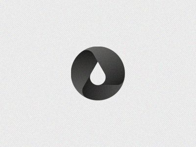 Dribbble - Oil by Hossein Yektapour ( vague recycle symbol with icon in the middle, interesting)