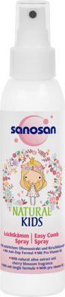 Für Haare kämmen ganz ohne Ziepen: Das Sanosan Leichtkämm Spray Natural Kids für Mädchen ist auf die zarte Kopfhaut von Kindern abgestimmt und verbessert...