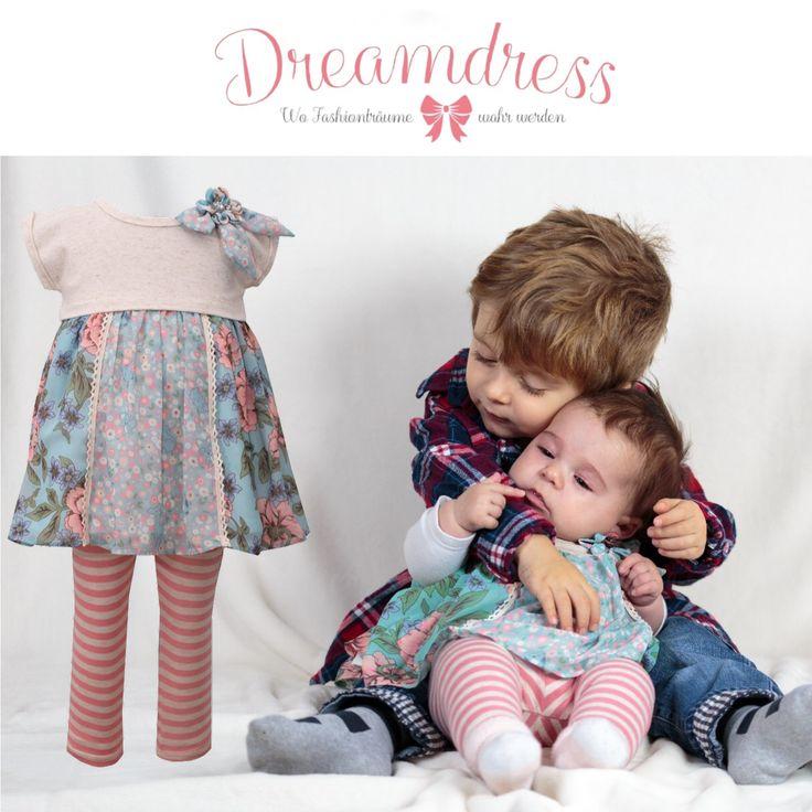 Legging Sets für Babys findest Du auf Dreamdress.at! #babyfashion, #baby, #babymode, #littlePrincess, #littleDiva