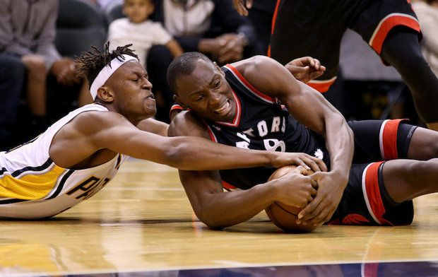 Indiana Pacers vs Toronto Raptors Live Stream NBA Playoffs Online   Key duel: DeMarre Carroll vs Paul George. It was largely in favor of Indiana in Game 5 despite the victory of Toronto and George Pacers will need to go back in order to prolong the series. Carroll has been getting more physical with him once and should continue this trend.  Basketball NBA