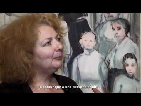Marlene Dumas in her studio - YouTube