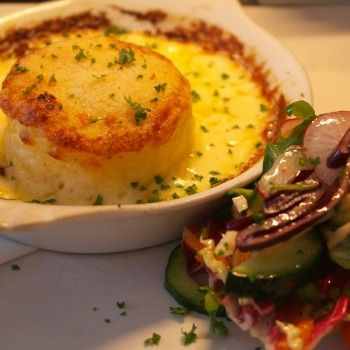 Could this be the best Double Baked Cheese Souffle recipe ever?