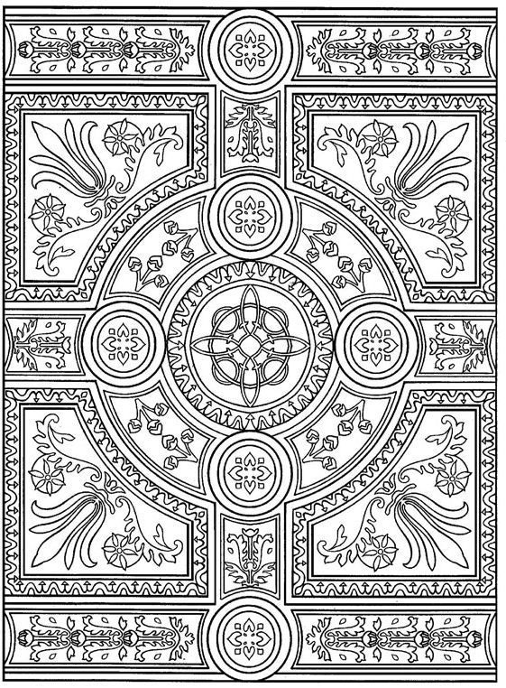 advanced coloring pages for adults | boost your creativity + calm with adult coloring | #reinventingmom