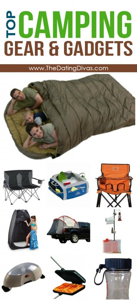 Favorite Camping Gear & Gadgets - keep going they are near the bottom