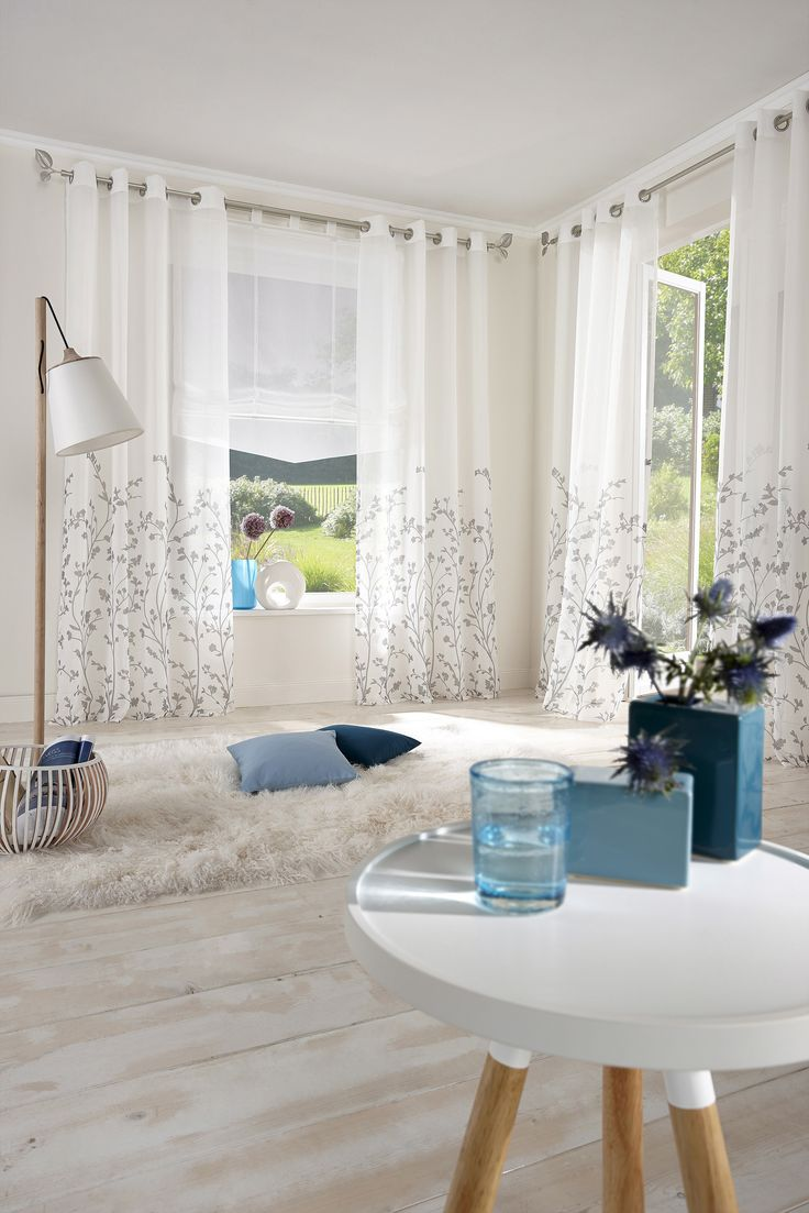European window coverings   best cortinas images on pinterest  living room shades and