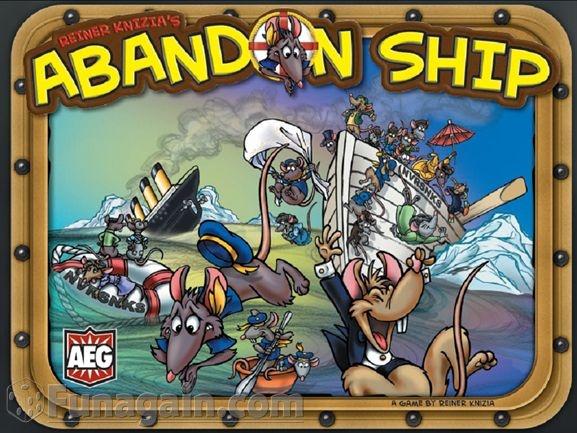 Abandon Ship seems like a REALLY fun family game